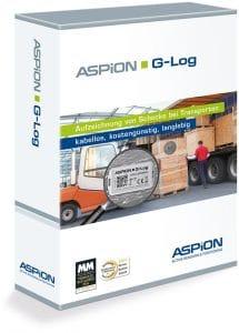 Transparenz bei Transportschäden mit dem ASPION G-Log Schocksensor.