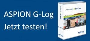 Testpaket ASPION G-Log - Transportüberwachung von Schocks - jetzt testen!