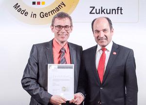 """ASPION wurde im März 2017 mit dem BITMi-Gütesiegel """"Software Made in Germany"""" ausgezeichnet."""