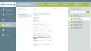 ASPION G-Log Version 1.5: Ausschalten der Temperatur-Aufzeichnung