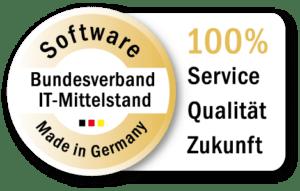 """ASPION mit BITMi-Gütesiegel """"Software Made in Germany"""" ausgezeichnet"""