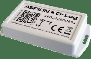 ASPION G-Log Schocksensor zur Transportüberwachung incl. Temperatursensor