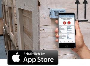 iOS App mit NFC-Schnittstelle für ASPION G-Log