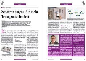 Anwenderbericht über den Einsatz der Datenlogger ASPION G-Log bei Uhlmann Pac - Vorschau