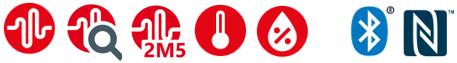 Transport Datenlogger ASPION G-Log 2 misst Schock und Klima