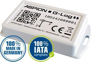 Transport Datenlogger ASPION G-Log Waterproof