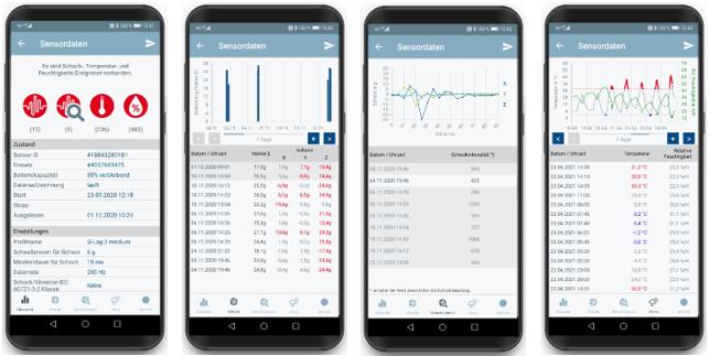 ASPION G-Log Smartphone App